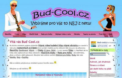 Bud-cool.cz preview